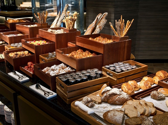 Breakfast buffet pictures